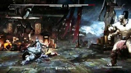 Les Fatality's de Goro de Mortal Kombat X