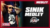 Medley de Sinik en live dans Planète Rap !