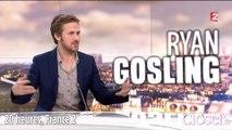 20 heures : Ryan Gosling n'assume pas d'être un sex symbol, dimanche 5 avril