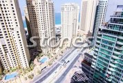 2 BR  Marina Wharf 1  P Marina and P Sea View  Dubai Marina