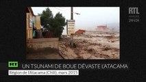 Un tsunami de boue dévaste le désert de l'Atacama au Chili