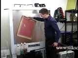 Silk Screen printing screen washout video 2 - How to screen print