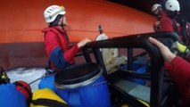 Greenpeace activists board Arctic-bound oil rig in protest