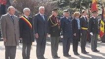 Hommage officiel rendu aux soldats belges tombés depuis 1945