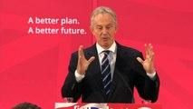 Tony Blair: I back Ed Miliband 100%