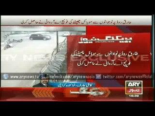CCTV Footage of Karachi Mobile Frenchise Roberry