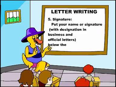 letter writing-learn grammar-english grammar
