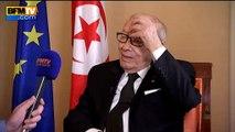 """""""S'abstenir de voyager n'immunise pas contre le danger """", déclare le président tunisien Béji Caïd Essebsi"""