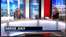 Serge July dit, pour la première fois, ce qu'il pense de la Une de « Libé » : « Casse-toi riche con » !