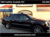2007 Cadillac Escalade EXT Baltimore Maryland   CarZone USA