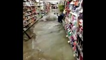 LiveLeak - Caution! Wet Floor