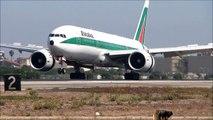 Alitalia - Compagnia Aerea Italiana at Los Angeles International Airport