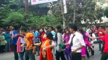 ICC T20 World Cup Flash Mob 2014 - Dhaka City College (National University of Bangladesh)