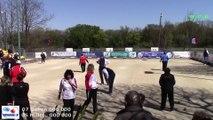 Mène 5, Finale du Super 16 Féminin, Sport Boules, Bourg-Saint-Andéol 2015