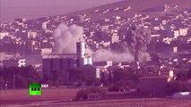 RAW: US-led coalition airstrikes target ISIS near Kobani
