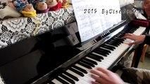 TVアニメ「艦隊これくしょん -艦これ-」(kantai collection -Kancolle- )OP 海色(みいろ)(Miiro) Piano arr.EgOistHiuMan HQ
