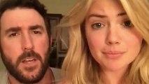 Kate Upton & Justin Verlander Recreate 'Step Brothers' Scene
