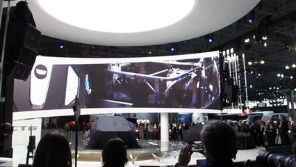 Cadillac CT6  Reveal at the 2015 NYC Auto Show