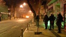 Hooded protesters attack Athens police with petrol bombs