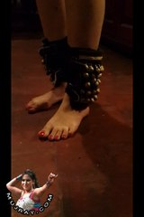 Its Indian Mujray Foot Steps with Ghungroo