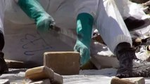 Au Panama, 13 tonnes de drogues brûlées par les autorités