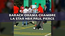 Barack Obama chambre la star NBA Paul Pierce