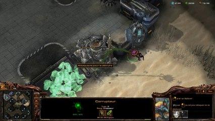 Corrupteur : Projection Caustique de Legacy of the Void (StarCraft II)