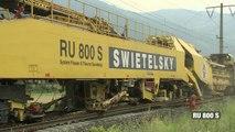 Amazing! Fully Automated Railway Track Laying Machine
