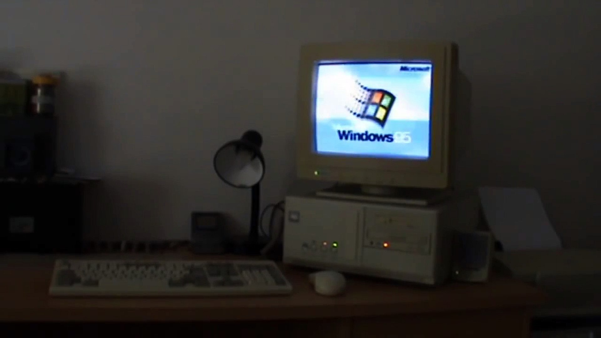 Le doux bruit d'un PC de 1992 sous Windows 95