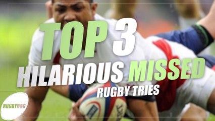 Top 3 Missed Tries