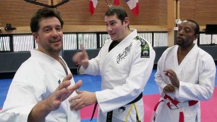Vincent Parisi COACH TITOFF sur Beinsports avec Lyoto Machida le Champion du Monde de L'UFC