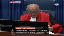 Izricanje presude Zdravku Tolimiru