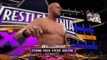 Wrestlemania 31 part 4 [Legends of Wrestlemania Battle Royal]
