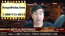 MLB Free Pick Washington Nationals vs. New York Mets Odds Prediction Preview 4-8-2015