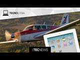 App consegue prever quedas e acidentes de avião / Piloto usa iPad para fazer pouso de emergência