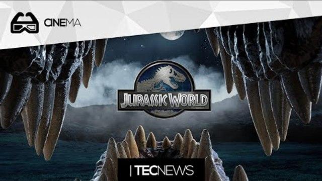 Veja o primeiro trailer de Jurassic World / Primeiro filme feito em primeira pessoa | TecNews