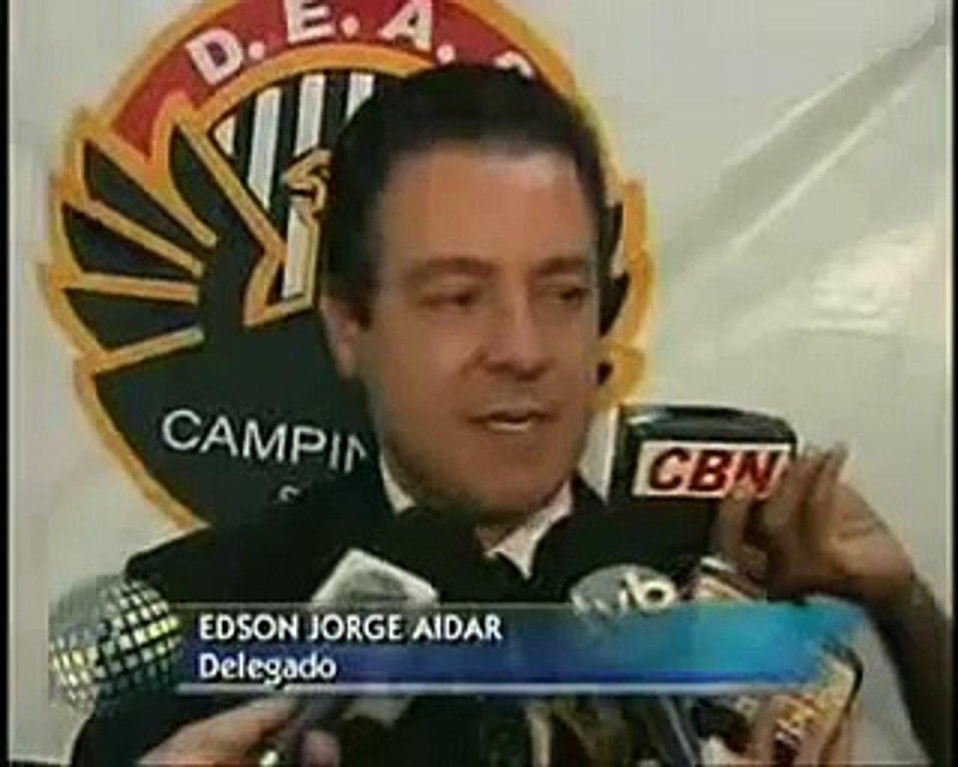SBT - Carlos Nascimento: Um soco na cara... - Jornal do SBT - 2006