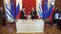 Τσίπρας: «Η Ελλάδα δεν ήρθε ως επαίτης στη Μόσχα»