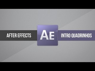 Tutorial After Effects: Intro/Vinheta estilo QUADRINHOS