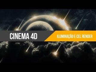 Tutorial Cinema 4D: Iluminação e Cel Render