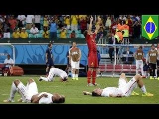 WM-Ticker: Tapfere USA sind raus, Messi schießt Argentinien ins Viertelfinale