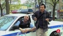Lazy Sleeping Cop Prank - Throwback Thursday