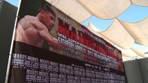 Showtime Boxing - Weigh-In: Mares vs. Morel - Abner Mares, Eric Morel, Anselmo Moreno, David De La Mora - Boxeo
