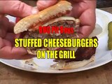 Cheese Stuffed Hamburger Recipe by the BBQ Pit Boys