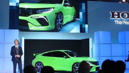 2016 Honda Civic Reveal at the 2015 NYC Auto Show Bob Giles NewCarNews.TV