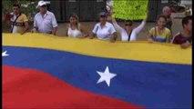 Venezolanos en Panamá piden la liberación de opositores y estudiantes