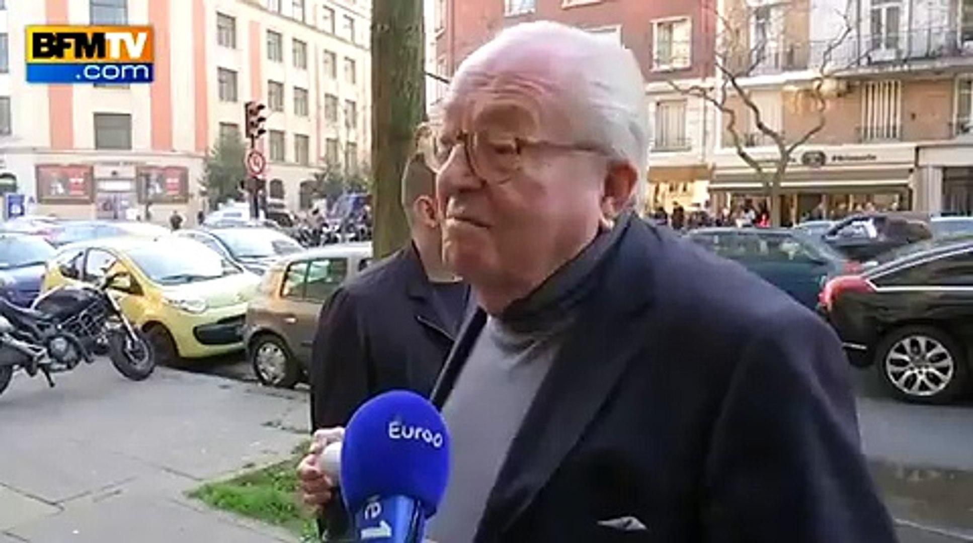 Front national: Jean-Marie Le Pen et sa fille Marine se répondent après la rupture