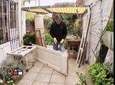 ¿Cómo reutilizar puertas y ventanas para hacer muebles?