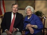 George H.W. Bush and Barbara Bush Message for Brent Scowcroft