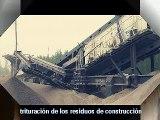 trituración de los residuos de construcción / reciclaje de residuos de construcción